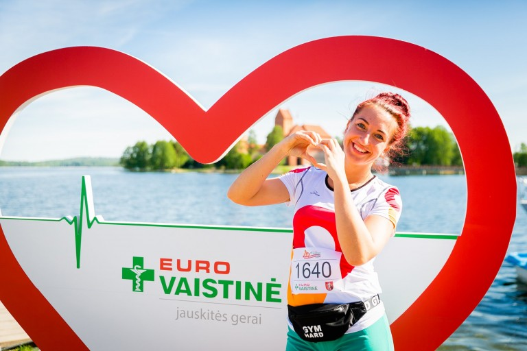 EUROVAISTINĖS Trakų pusės maratono bėgimas 2019