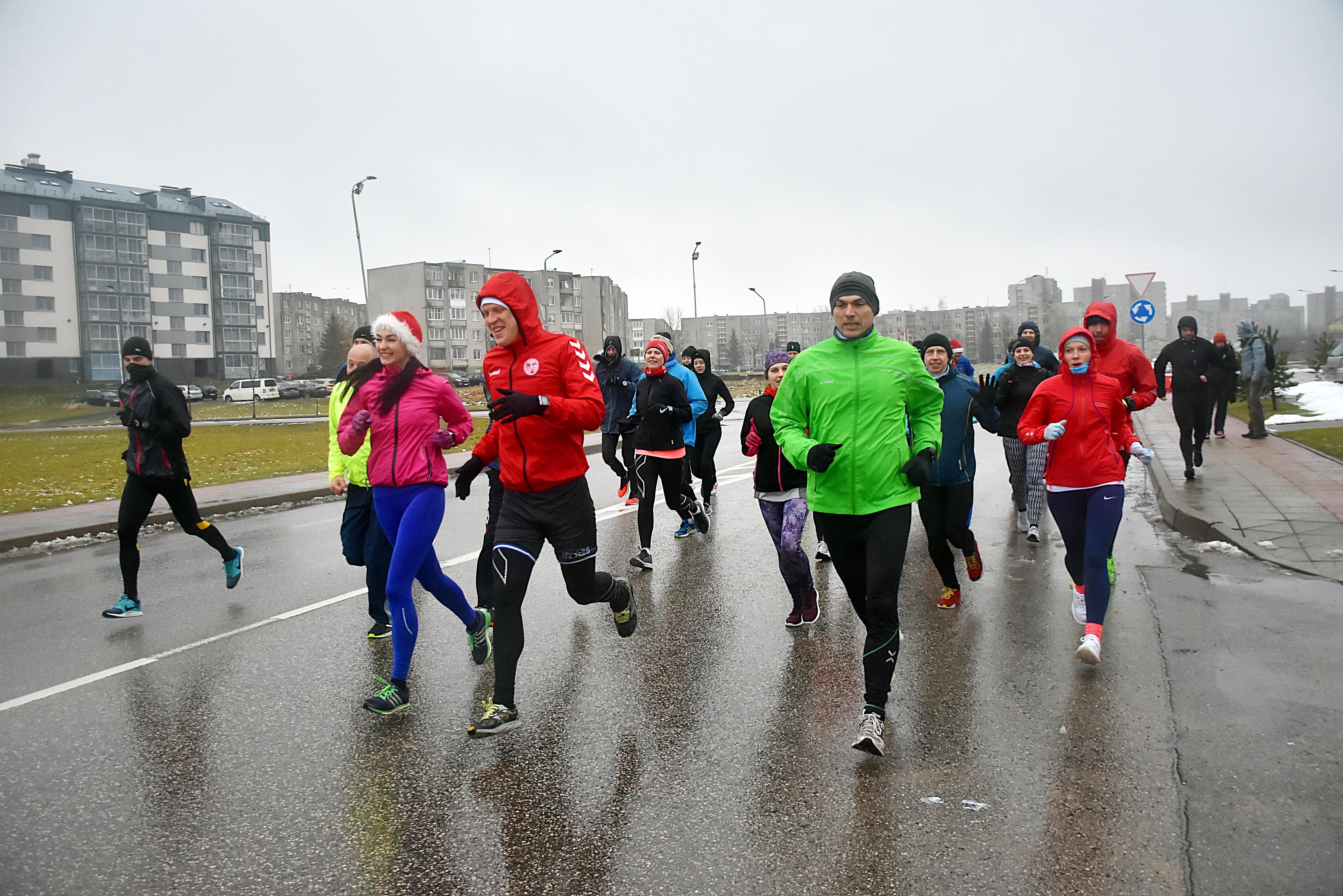 Jonavos Naujametinis bėgimas